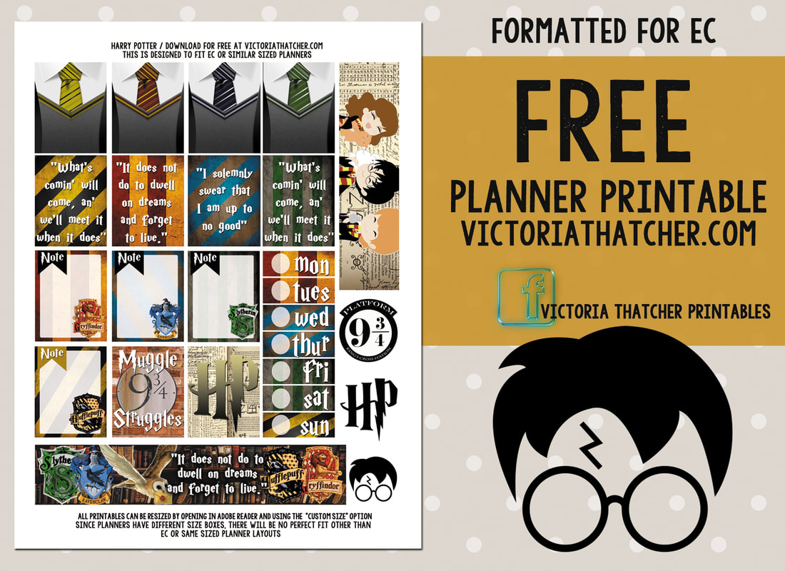 It's just an image of Influential Harry Potter Printables Pdf